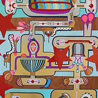 """April Deacon, """"American Dream Machine,"""" 2015"""