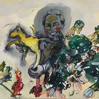 """Dan Jian, """"Place Market No. 2,"""" 2016"""
