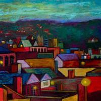 "Bonnie Dolin, ""Early Evening,"" 2013"