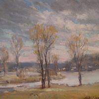 """Jack Irwin Liberman, """"Summit Lake, Winter,"""" 2007"""