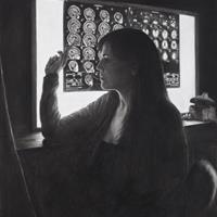 Leslie Adams - Self Portrait, 2010