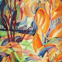 August F. Biehle - Changing Seasons, 1935