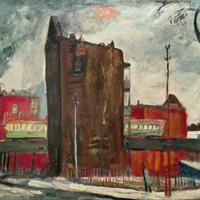 Francis Chapin - By The El Tracks, c 1935