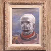 Yasuo Kuniyoshi - Tired Clown, 1946