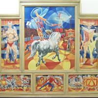 Paul Anderson Trapp - Circus, 1949-50