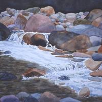 June Parks - Woodland Waterfall, 2008