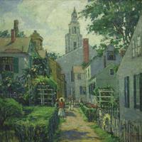 "Pauline Palmer, ""Our Lane,"" 1929"