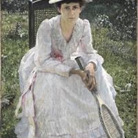 "Otto Bacher, ""Mary Holland Bacher,"" 1891"