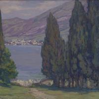 Frederick C. Gottwald - Mediterranean Landscape, 1925