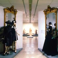 From the 1986 exhibition Memorable Dress / Ohio Women at The Ohio State University Gallery of Fine Art