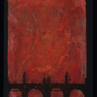 "Nicholas Hill, ""Red Night Bridge,"" 2007"
