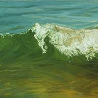 Laura Sanders - Wave with Child, 2006
