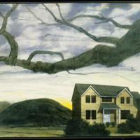 """Ron Kroutel, """"Yellow House/Mound,"""" 2004"""