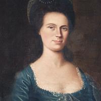 "Edward Savage, ""Portrait of Polly Parkman Bradshaw Foster, "" c. 1786"