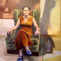 """Carlos Ampuero, """"Portrait of a Woman,"""" 2001"""