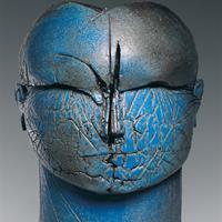 """Benjamin Lira, """"Bronze Head II,"""" 2004"""