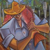 "Roel Caboverde Llacer, ""De Regreso a Casa (Coming Home),"" 1999"