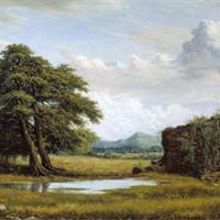 "Alfredo Rodriguez Cedeno, ""Paisaje con Ruinas (Landscape with Ruins),"" 2002"