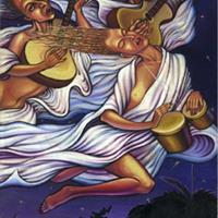 """Marcos Pavon Estrada, """"Reunión de Brujas (Witches' Meeting),"""" 1985"""