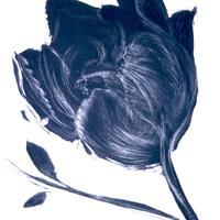 "Mary Manusos, ""Black Tulip,"" 2002"