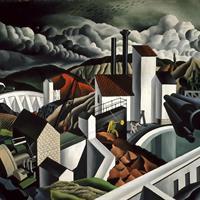 Rafael Glietsmann - The White Dam, 1939
