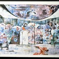 Jaroslav Malina - Stage Design for Ms Julie by August Strindberg