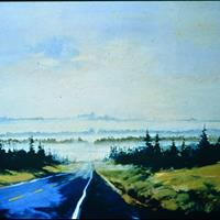 Ron D. Taylor - Road to Onaway, 1992