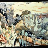 "August F. Biehle, Jr., ""Brandywine Landscape,"" 1913"