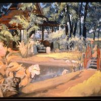"Grace Veronica Kelly, ""The Red Bridge,"" c. 1914"