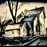 """Russel Eisenhut, """"In the Flats,"""" 1937"""