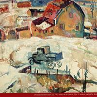 """William Sommer, """"Brandywine Dairy Cart,"""" 1918"""