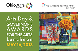 2018 Governor's Awards for the Arts Winners Announced