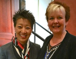 Ohio Arts Council Executive Director Donna S. Collins and National Endowment for the Arts Chairman Jane Chu