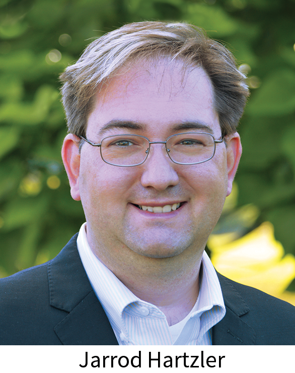 Jarrod Hartzler, executive and artistic director of Tuesday Musical Association