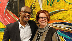 Arts Midwest President & CEO Torrie Allen and Ohio Arts Council Executive Director Donna S. Collins