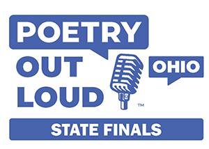 Ohio Poetry Out Loud State Finals logo