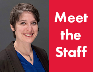 Meet the Staff: Cat Sheridan