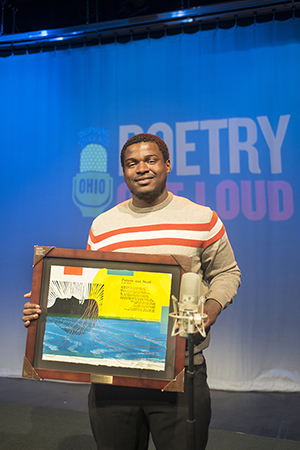Dayton Student Wins 2016 Poetry Out Loud State Finals,  Advances to Nationals in Washington D.C.