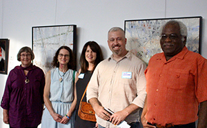 Group photo of artists whose work is included in the 2018 Ohio State Fair Fine Arts Exhibition