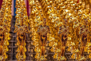 Golden award statues