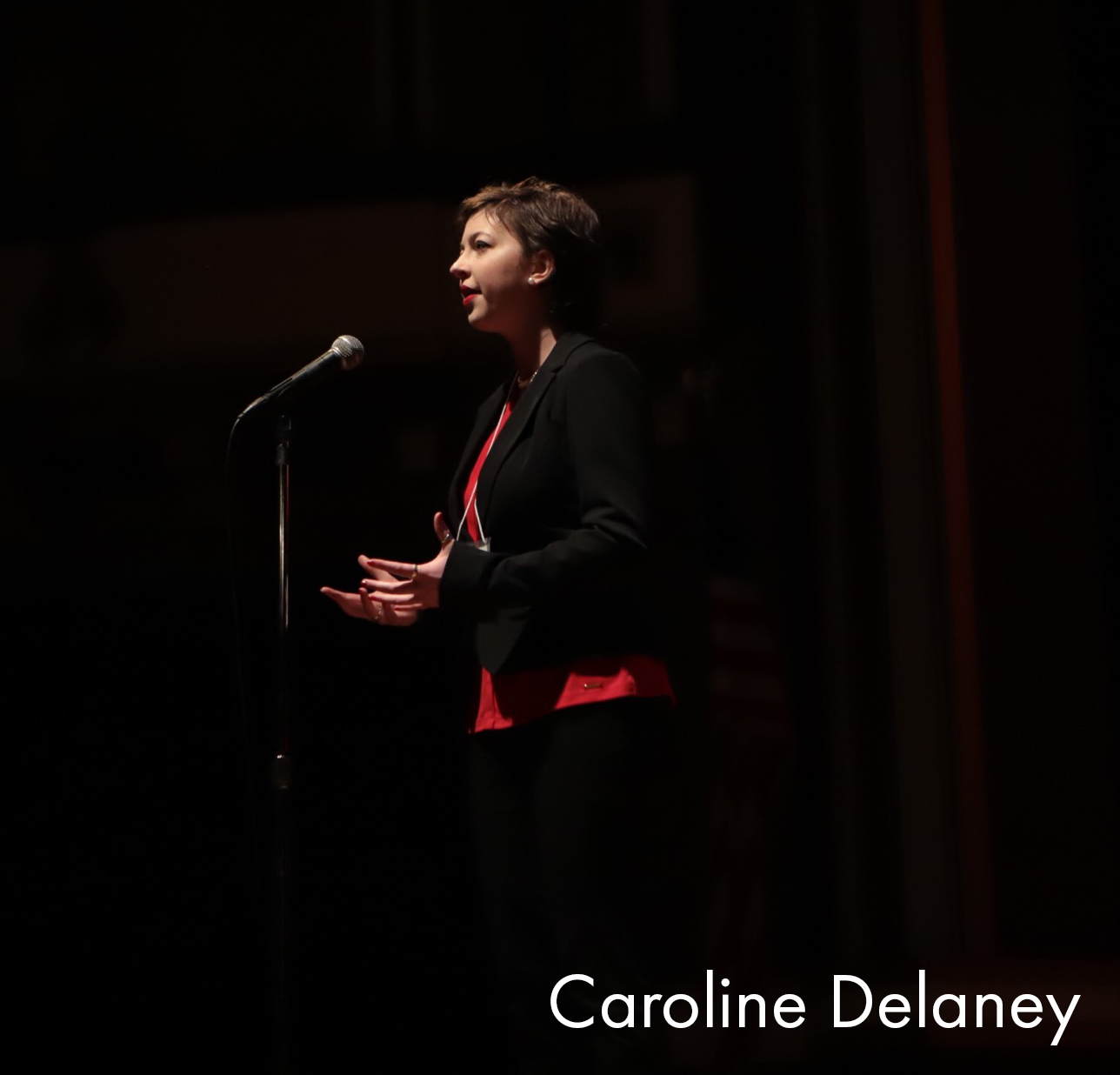 Ohio Poetry Out Loud 2018 State Champion Caroline Delaney
