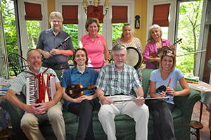 Group photo of the Board of Trustees of the Riley School of Irish Music, a 2017 Ohio Heritage Fellowship Award recipient
