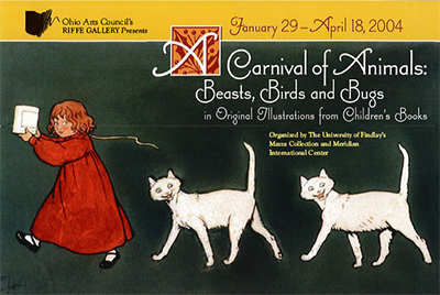 A Carnival of Animals postcard